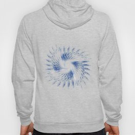 Blue feathers Hoody