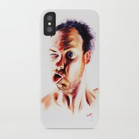 no face iPhone & iPod Cases featuring Face by Martin Kalanda
