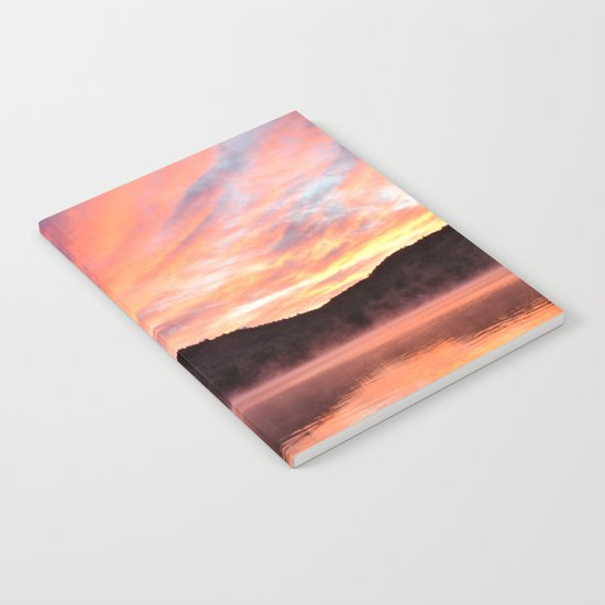Sunrise: Fire and Water Notebook