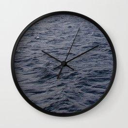 Wild waves in Loch Ness Wall Clock