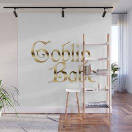 Labyrinth Goblin Babe (white bg) Wall Mural