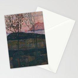 Egon Schiele - Setting Sun (1913) Stationery Cards