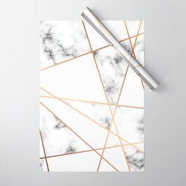 Marble Geometry 054 Wrapping Paper