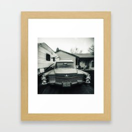 Hearse Framed Art Print