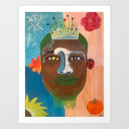 Brotha Nature Art Print