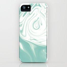 BLUE SIGH iPhone Case