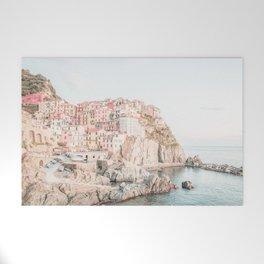 Positano, Italy Amalfi Coast Romantic Photography Welcome Mat