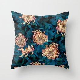 Сhrysanthemums Throw Pillow