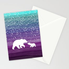 Bears from the Purple Dream Stationery Cards