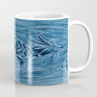warcraft Mugs featuring Wind Dragon by BevyArt