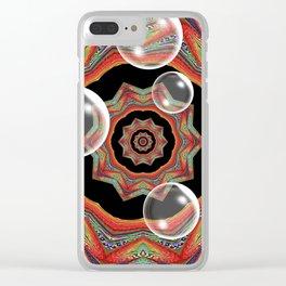 Pretty Bubbles Clear iPhone Case