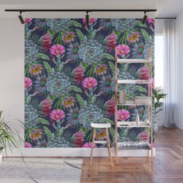 Exotic flower garden II Wall Mural