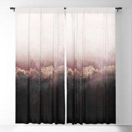 Pink Sky Blackout Curtain