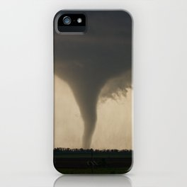 Tornado On the Ground at Salina Kansas iPhone Case