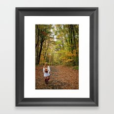 Nature Walks Framed Art Print