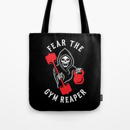 Fear The Gym Reaper Tote Bag