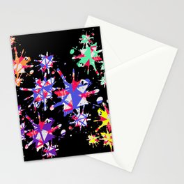 Triangles Pattern 001 Stationery Cards