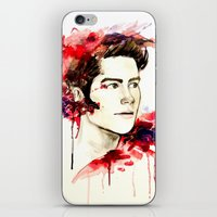 stiles iPhone & iPod Skins featuring Stiles Stilinski  by Sterekism