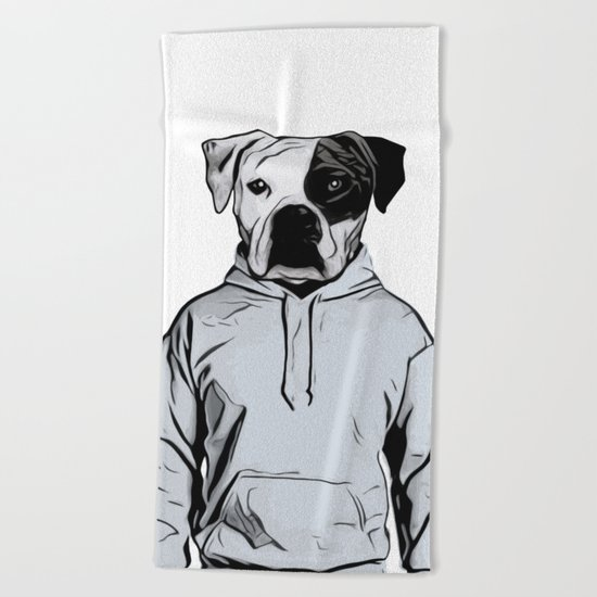 Cool Dog Beach Towel