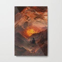 Good things are coming on Mars Metal Print