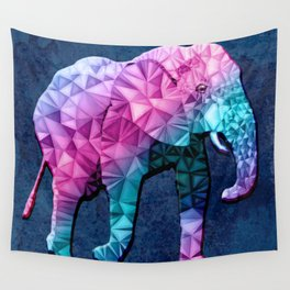 abstract elephant Wall Tapestry