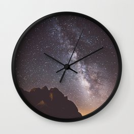Joshua Tree Milky Way Wall Clock