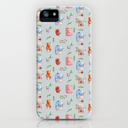Unusual couples iPhone Case