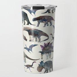 Dinosaurs Pattern Travel Mug