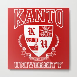 Kanto University Metal Print