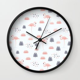 Modern Animal Pattern Wall Clock