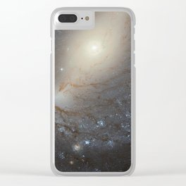 Barred Spiral Galaxy NGC 4394 Clear iPhone Case