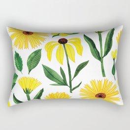 Botanic Watercolor Collection #17 Rectangular Pillow