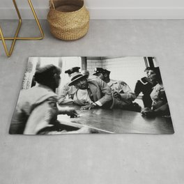 Remembering African American History & Martin Luther King Racial Injustice photograph - photography Rug