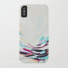 The Healer - Abstract painting #society6 iPhone X Slim Case