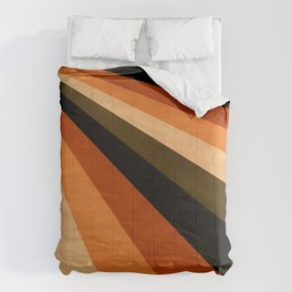 Autumn Stripes Comforters