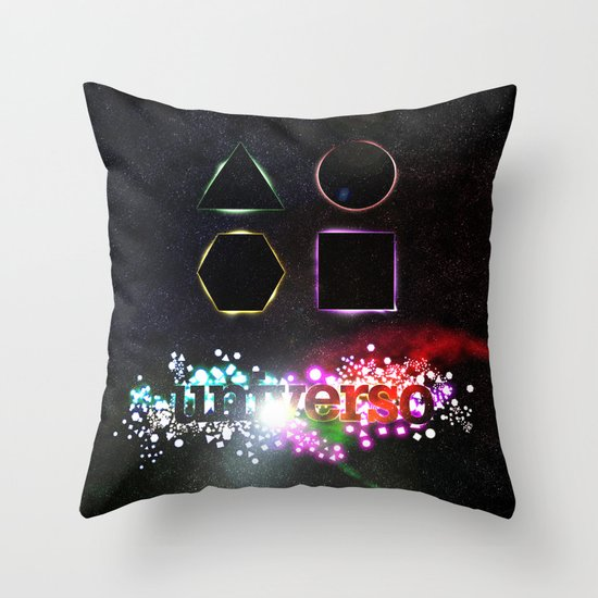 Universo Throw Pillow