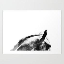 The Horse Art Print