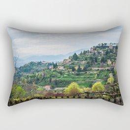 Northern Italy Landscape Rectangular Pillow