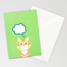 cat 2-British Shorthairs Stationery Cards