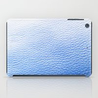 leather iPad Cases featuring Blue Leather by The Wellington Boot