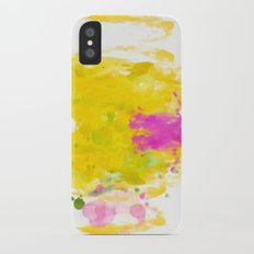 Sunny-Watercolor-Abstract V.3 Slim Case iPhone X