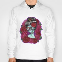 baroque Hoodies featuring Catrina Baroque by Tattoo Sandra