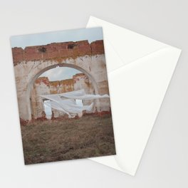 Falling into ease Stationery Cards