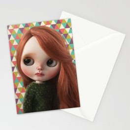 Deera bythe custom doll by Erregiro Stationery Cards