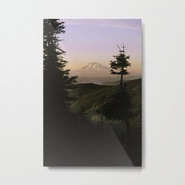 Mount Adams in the Distance. Metal Print