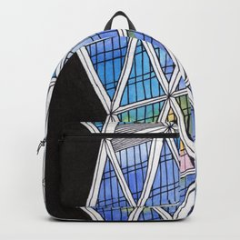 Architecture triangles Backpack