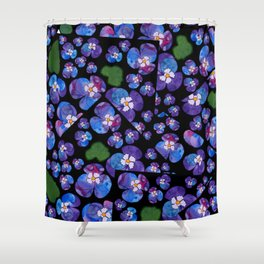 Menekse Shower Curtain