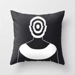 Dissociative Identity Disorder 4 Throw Pillow