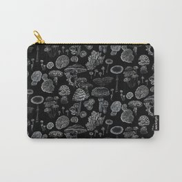 Mycology Black Carry-All Pouch