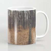 indiana Mugs featuring Indiana Forest by Kurt Rahn